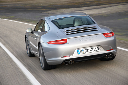 The 2012 Porsche 911 Carrera S is more powerful and more fuel efficient than its predecessor.  (PRNewsFoto/Porsche Cars North America, Inc.)