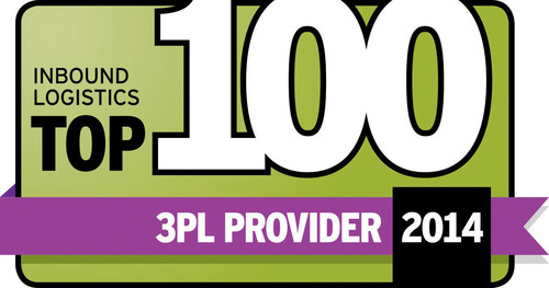 OHL makes Inbound Logistics Top 100 3PL list 16 years in a row. (PRNewsFoto/OHL) (PRNewsFoto/OHL)
