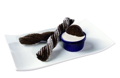 OREO(R) Churros with OREO(R) cookie creme dip