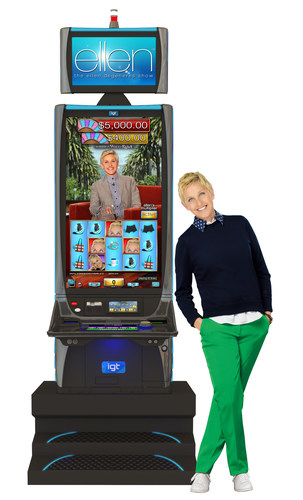 ellen degeneres slot machine vegas