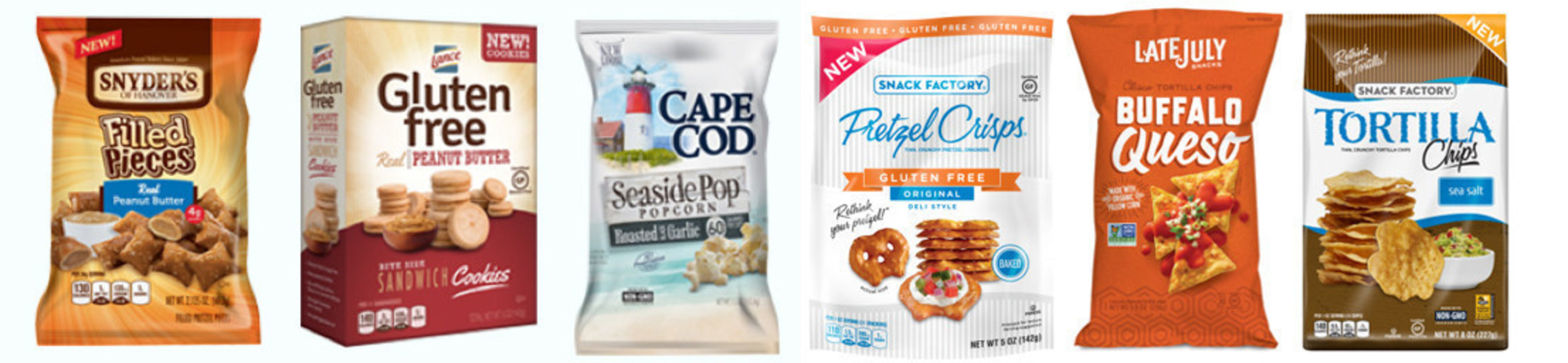 Snyder's-Lance Introduces a Variety of Innovative New Snacks Across Several Brands