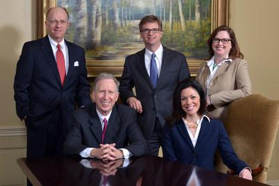 Kinnard, Clayton & Beveridge attorneys, clockwise from the top left: Mark S. Beveridge, Daniel L. Clayton, Mary Ellen Morris, Jenney Springer Keaty, Randall L. Kinnard.