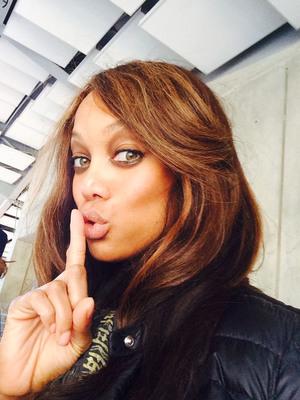 Tyra Banks Shhhh