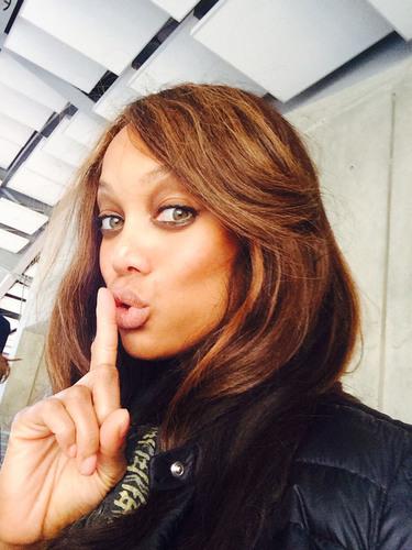 Tyra Banks Shhhh.  (PRNewsFoto/Kellogg Company)