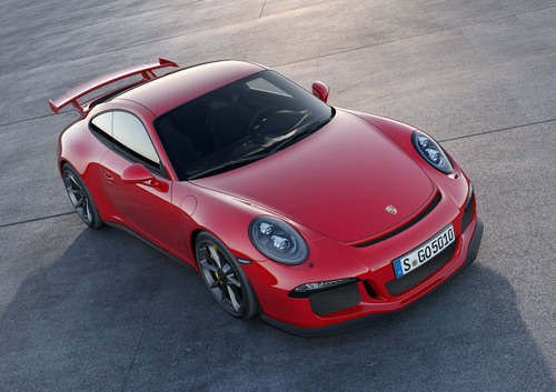 Porsche to Unveil 2014 911 GT3 at New York Auto Show.  (PRNewsFoto/Porsche Cars North America, Inc.)