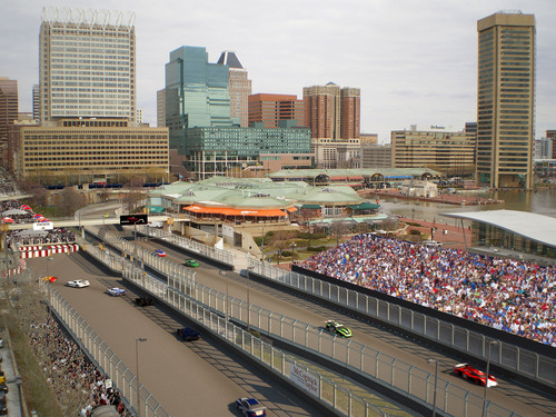 'Ladies and Gentlemen...Start...Your...Engines...' Downtown Baltimore Transforms Into a Racetrack