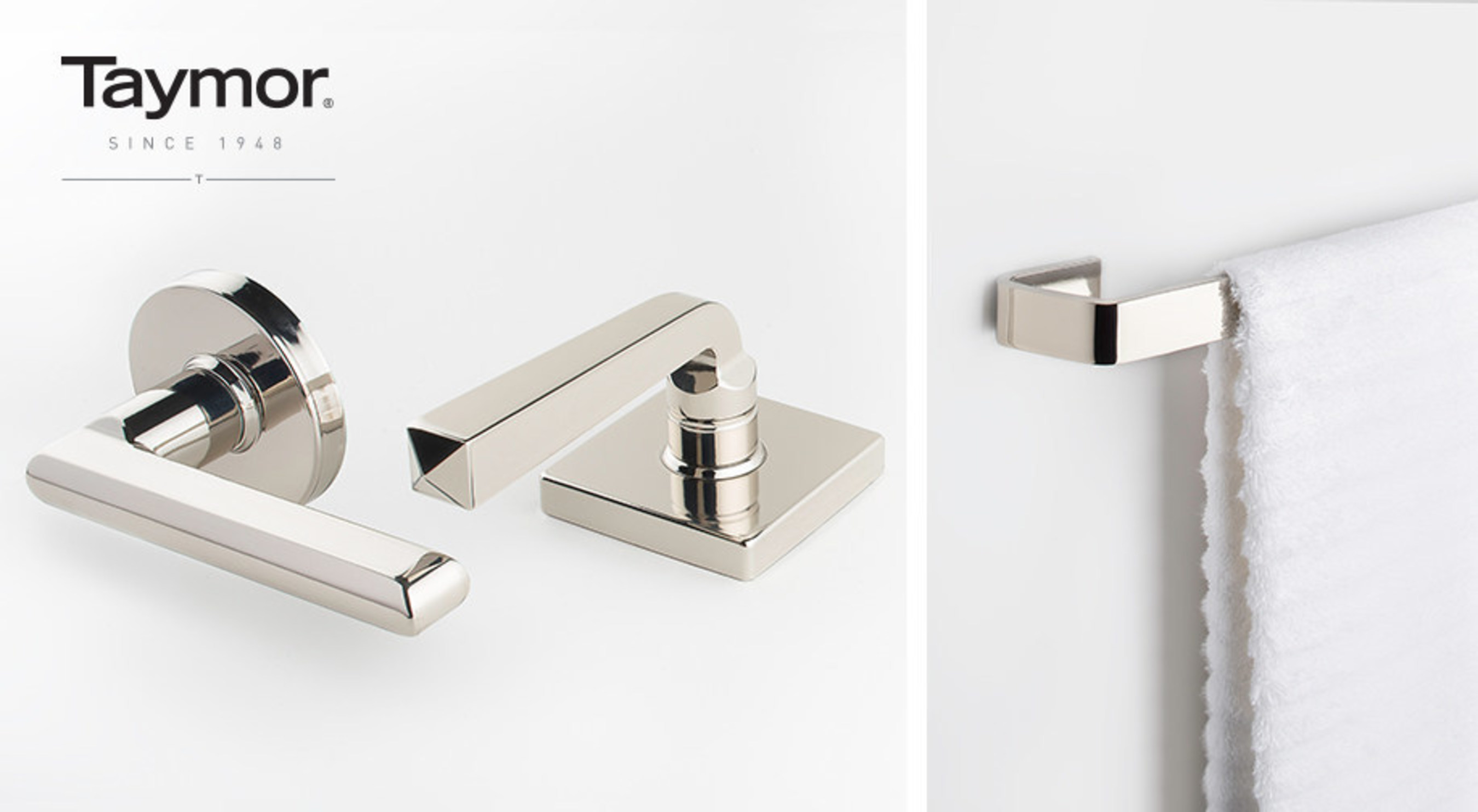 Taymor Unveils Contemporary Design-Coordinated Door and Bath Hardware at the 2016 International