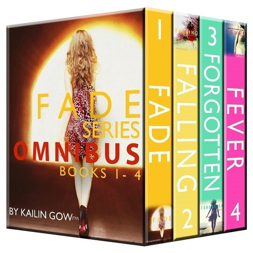 Kailin Gow's FADE Series Omnibus Wins the Prestigious IBPA's Silver Honoree Award in the Benjamin Franklin Digital Awards. (PRNewsFoto/Sparklesoup Inc.)