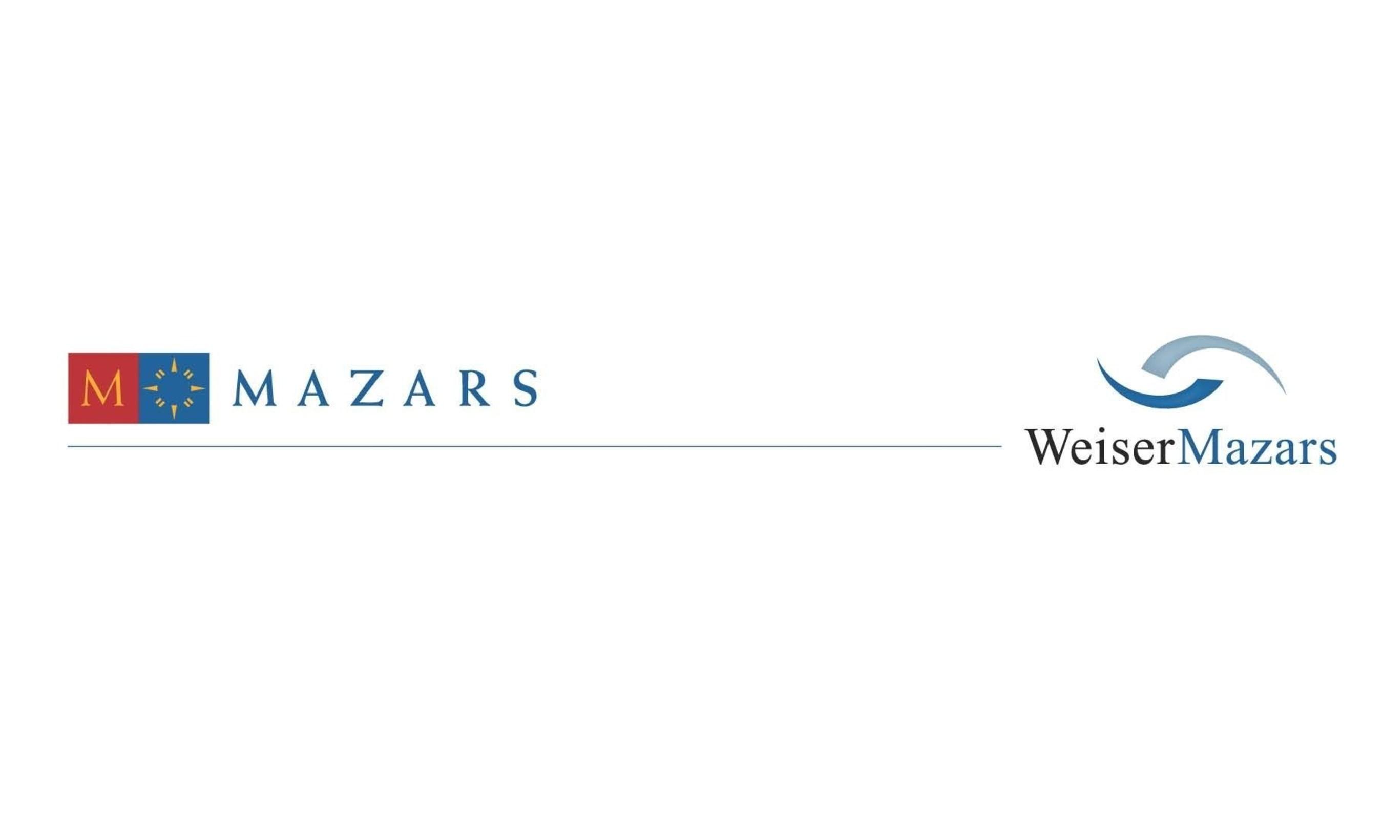 WeiserMazars LLP logo.