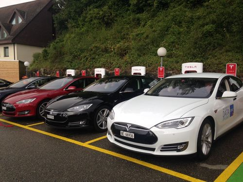Switzerland's second Supercharger station in Egerkingen is now officially energized.