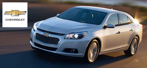 The 2014 Chevy Malibu is currently in the Chevrolet of Naperville showroom and is ready for customers to take for a test drive or to come take a closer look at taking home for the next fine Chevy vehicle. (PRNewsFoto/Chevrolet of Naperville)