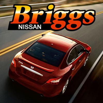 Nissan Leaf in Lawrence.  (PRNewsFoto/Briggs Nissan Lawrence)