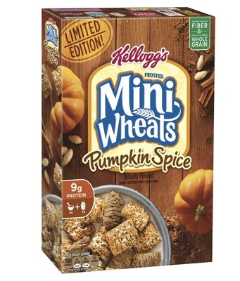 Frosted Mini-Wheats Pumpkin Spice cereal