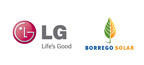 Borrego Solar and LG Electronics (PRNewsFoto/LG Electronics USA, Inc.)