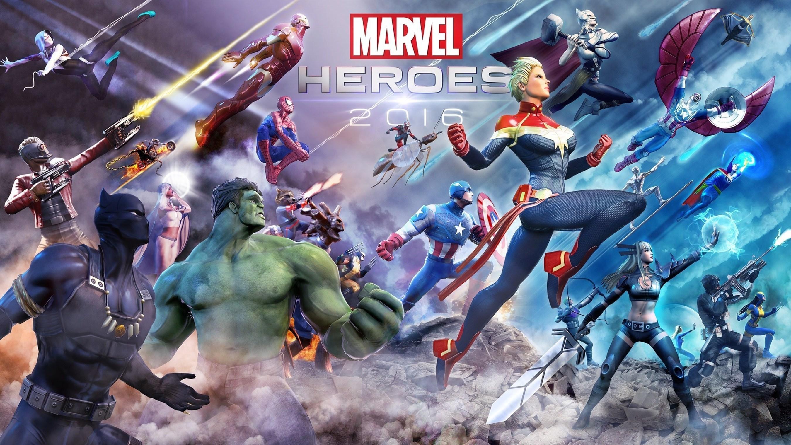 Gazillion's 'Marvel Heroes 2016' Initiative Begins Today