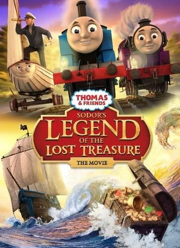 Thomas & Friends(TM) special Sodor's Legend of the Lost Treasure (PRNewsFoto/MATTEL, Inc) ...
