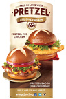 Wendy's(R) is bringing back its #PretzelLoveSongs campaign by asking consumers to share their joy of being reunited with its beloved pretzel bun on social channels with the hashtag #PretzelLoveSongs. The most love-filled social media posts will be turned into lyrics of songs performed in a three-part series of music videos.  (PRNewsFoto/The Wendy's Company)