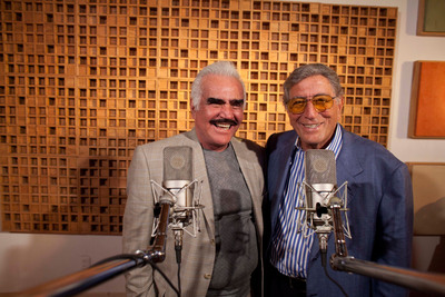 Tony Bennett & Vicente Fernandez to Perform at Prudential Center in Newark, NJ on Sunday, September 30.  (PRNewsFoto/Columbia Records/RPM Records, Ivan Manjarrez)
