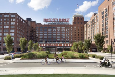 Merry and Bright at Atlanta's Ponce City Market