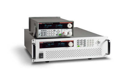 Tektronix debuts the Keithley Series 2380 family of compact, standalone DC Electronic Loads as a compliment to the company's complete set of power test and measurement solutions. Available in 200W, 250W and 750W models, the new DC Electronic Loads offer excellent performance, competitive pricing and the versatility to handle a wide range of applications including performance verification, stress test and environmental test of DC power sources, power components and batteries in power electronics, LED lighting, battery research, automotive and alternative energy.