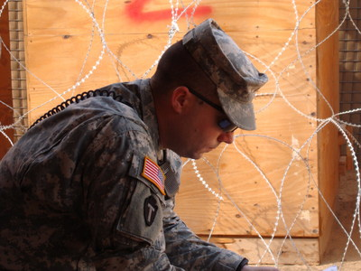 Clark served four deployment tours in three different military branches.