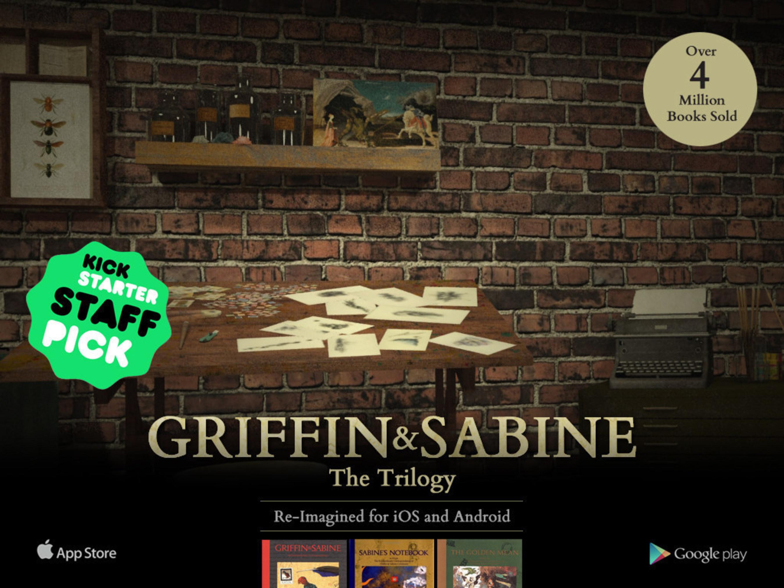 Kickstarter campaign Announced for Nick Bantock, Griffin & Sabine App Trilogy