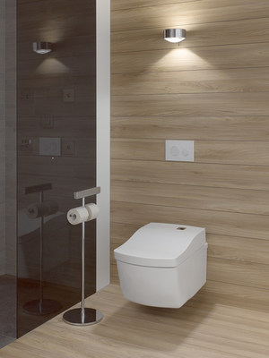 TOTO Showcases The NEOREST H Intelligent Toilet At The - Toto bathroom