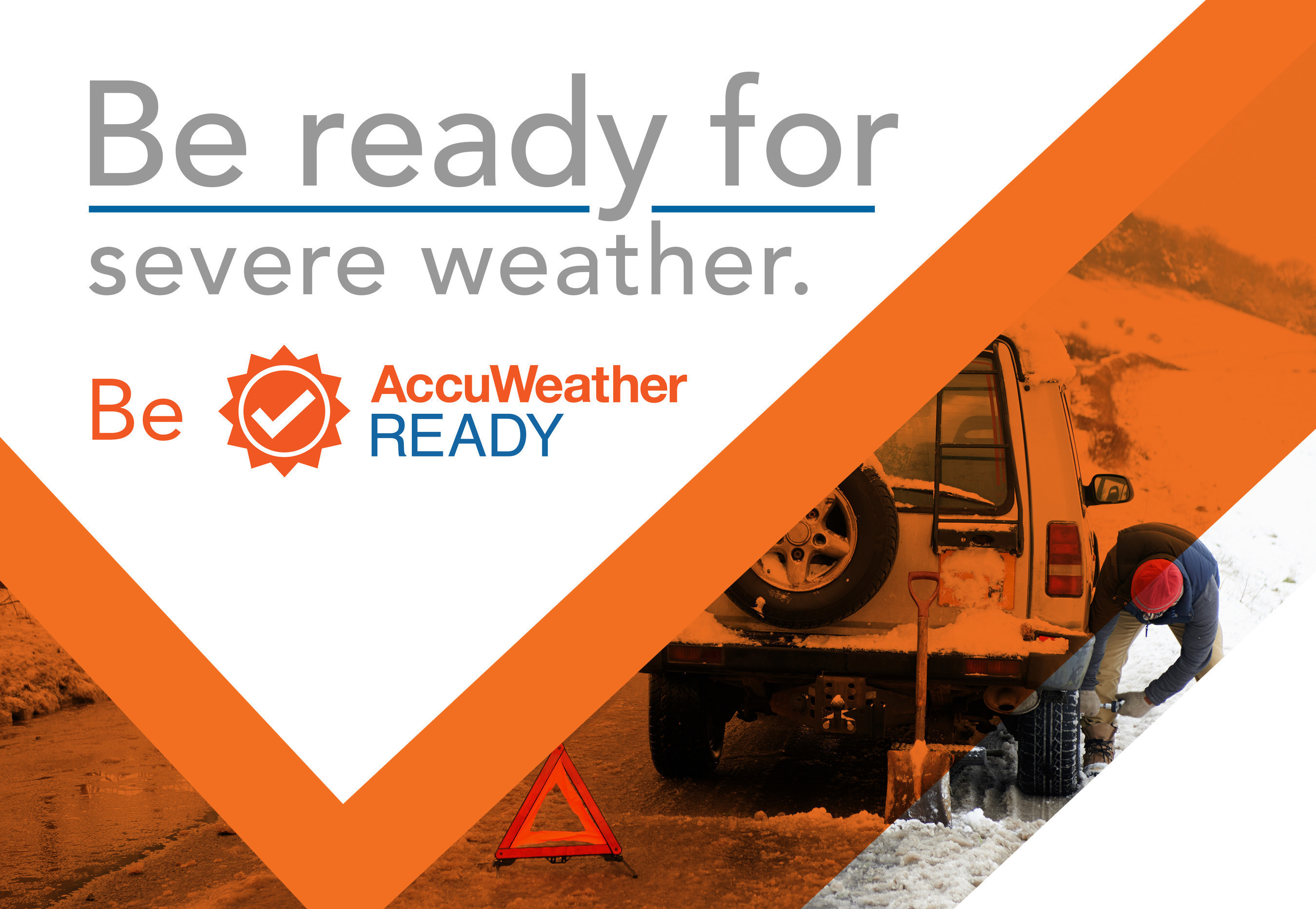 """AccuWeather Announces New """"AccuWeather Ready"""" Weather Preparedness Program with Life-Saving Weather Information and Tools to Keep People Safe"""