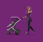 The new BRITAX Affinity stroller combines top fashion with superior function.  (PRNewsFoto/Reynolds Communications Group)