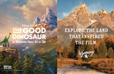 "Dig into Hands-On Paleontological Experiences in Wyoming that Bring Disney-Pixar's ""The Good Dinosaur"" to Life"