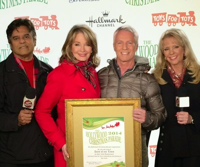Days of our Lives Receives 50th Anniversary Honor at 83rd Annual Hollywood Christmas Parade