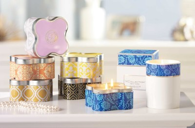 Yankee Candle's premium Y. Collection No. 2, available in eight fragrances hand-poured into two sophisticated new forms.
