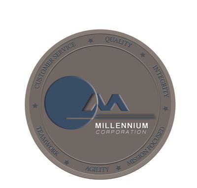 Millennium Corporation Logo. (PRNewsFoto/Millennium Corporation) (PRNewsFoto/MILLENNIUM CORPORATION)