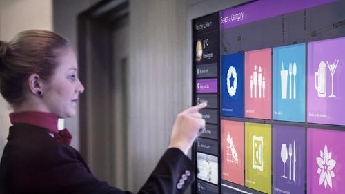 The new Novotel Virtual Concierge system.  (PRNewsFoto/Monscierge, LLC)