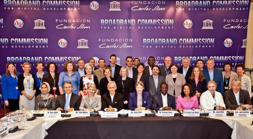 7th Broadband Commission for Digital Development Meeting. (PRNewsFoto/Pyramid Research) (PRNewsFoto/PYRAMID ...