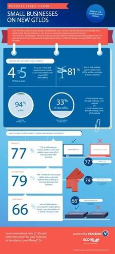 New Infographic from SCORE and Verisign: Perspectives from Small Businesses on New Generic Top-level Domains ...