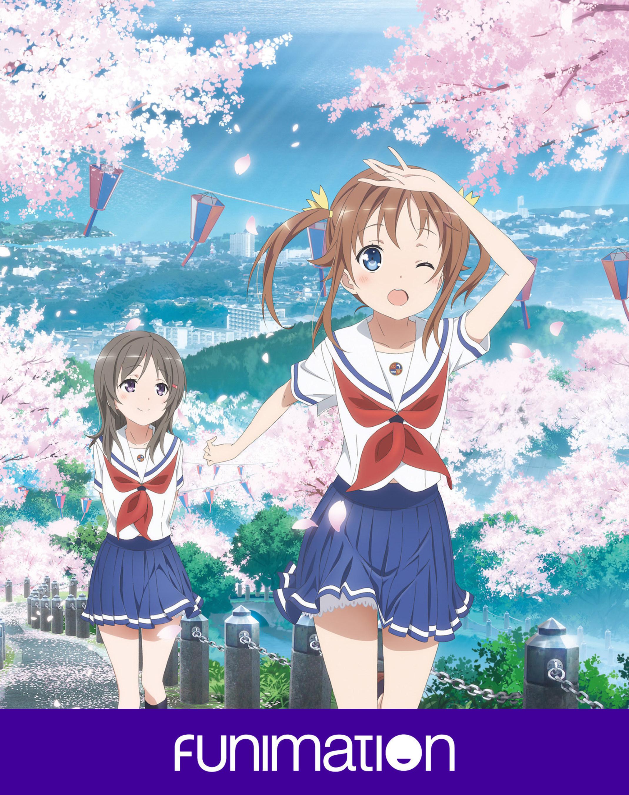 """""""Haifuri: Key Art Image. Courtesy of Funimation Entertainment."""