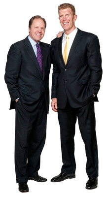 Matt Birk and Rich Chapman. (PRNewsFoto/Matt Birk and Rich Chapman) (PRNewsFoto/MATT BIRK AND RICH CHAPMAN)