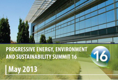Progressive Energy, Environment & Sustainability Summit #16.  (PRNewsFoto/FMA Summits Inc.)