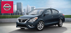 The 2015 Nissan Versa has the lowest MSRP in America, but is still a fun, quality car with lots of features! (PRNewsFoto/Matt Castrucci Nissan)