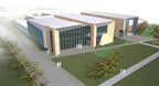 Aerial rendering of the renovations.  (PRNewsFoto/Walsh College)