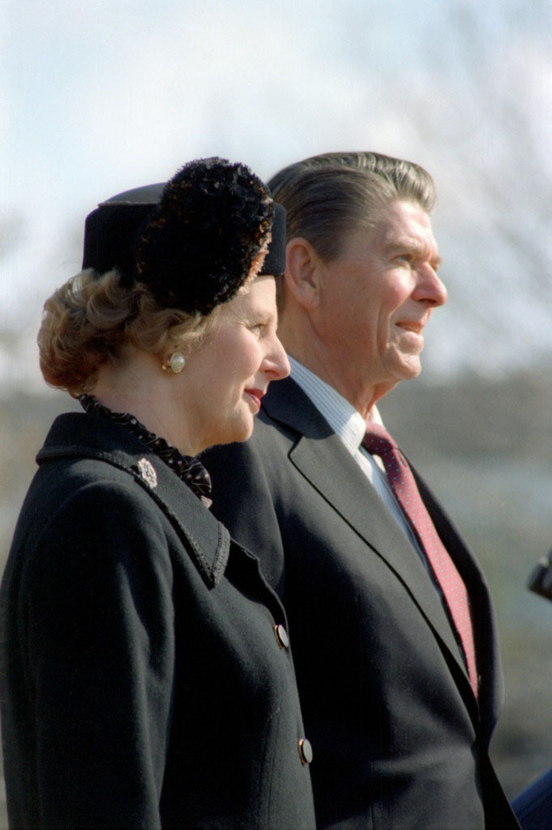 President Ronald Reagan and Prime Minister Margaret Thatcher featured in National Churchill Museum Exhibit through March 9, 2014.  (PRNewsFoto/National Churchill Museum)