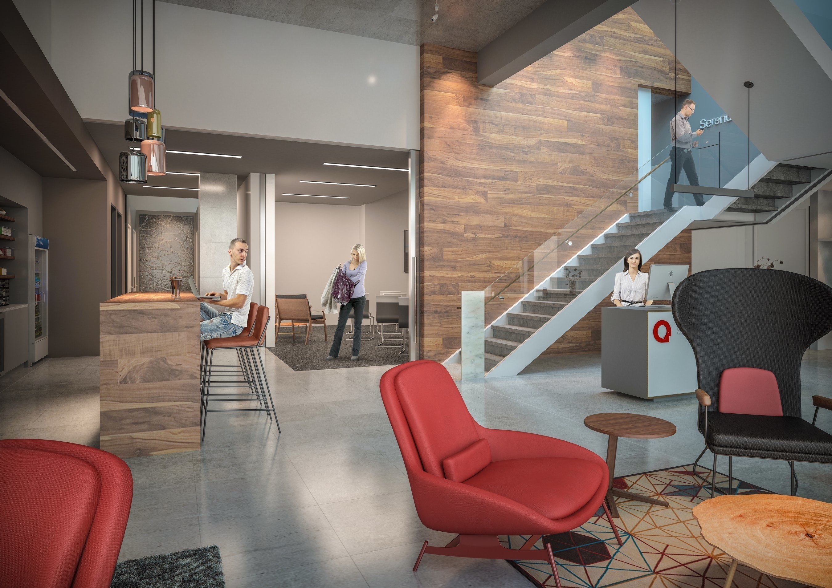 Brand standard rendering for all Serendipity Labs locations.