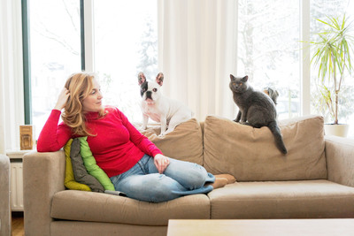 """Merck Animal Health """"A Healthy Pet = A Happy Family"""" Encourages Pet Diabetes Screening and Treatment. (PRNewsFoto/Merck Animal Health) (PRNewsFoto/MERCK ANIMAL HEALTH)"""