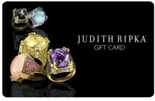 The Judith Ripka Gift Card.  (PRNewsFoto/MyReviewsNow.net)