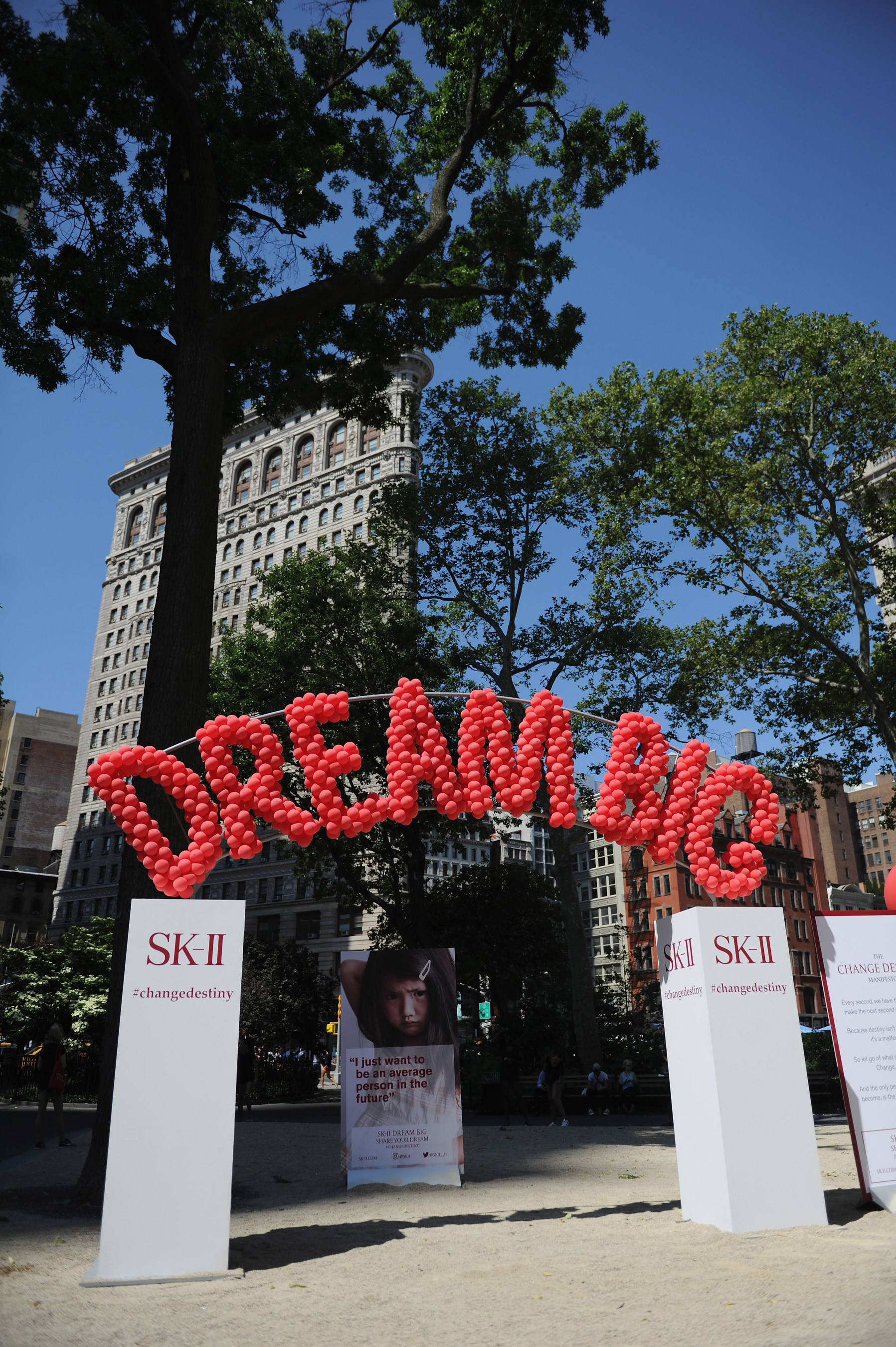 "SK-II ""Dream Again"" Event in Madison Square Park, NYC"