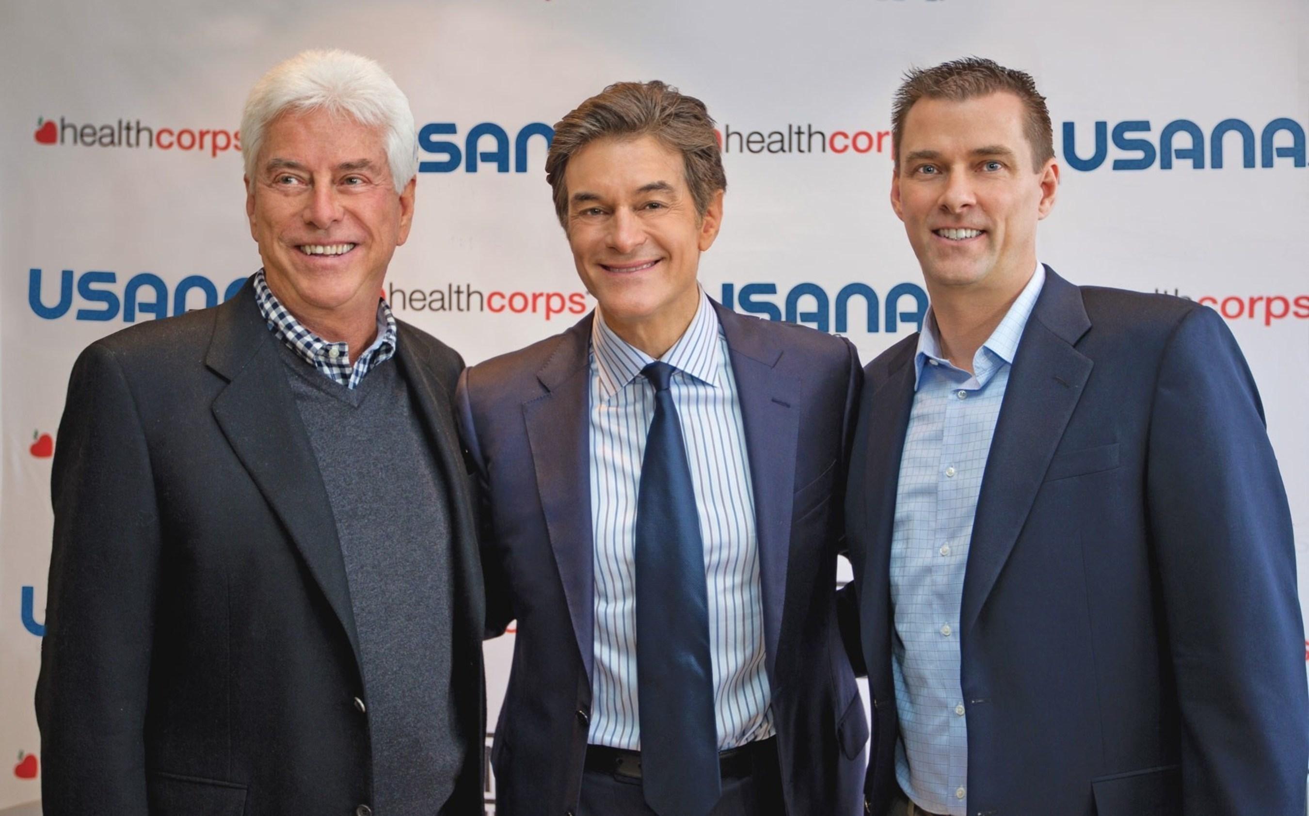 Dr. Myron Wentz, Dr. Mehmet Oz and Dave Wentz
