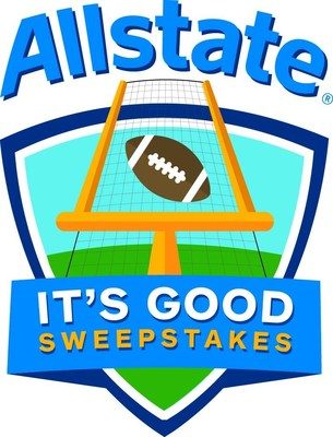 Allstate launches the Its Good Sweepstakes as part of a season-long celebration of college football and its loyal fans.