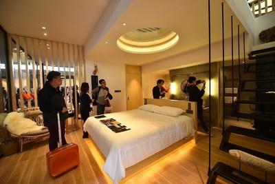 Onsite Hotel Mockup Room