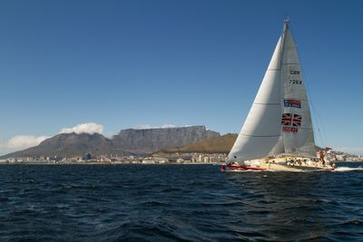 GREAT Britain team win latest stage of world's longest ocean race into Cape Town (PRNewsFoto/CLIPPER VENTURES PLC)